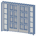 Archicad 11 Library object parts, doors, 2 Sidelig....