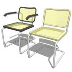 Cesca Chair by Marcel Breuer in 1928. Configs avai...