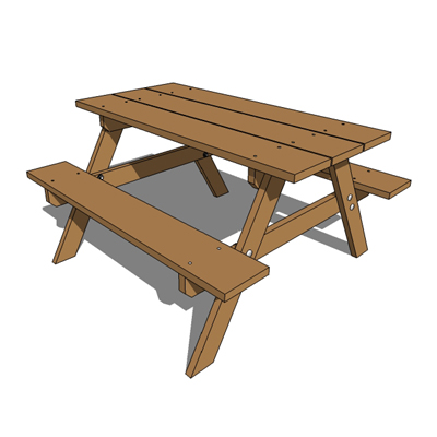 plans to build a children's picnic table | Easy Woodworking ...