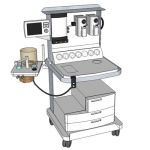 Operating Room anesthesia cart.