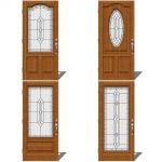 Therma Tru Entry Door Set 2. Shown with Provincial...