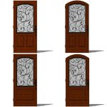 Therma Tru Augustine Entry Door Set 1. All Doors a...