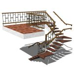 View Larger Image of FF_Model_ID10470_Wood_and_metal_staircase_FMH_5424.jpg