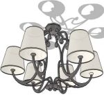 View Larger Image of wrought iron lamp