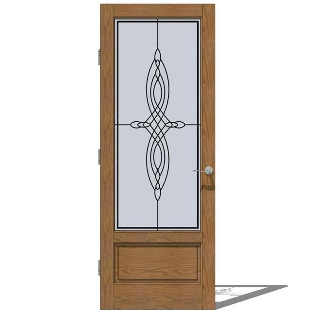 Jeld Wen Interior French Collection Doors 3D Model