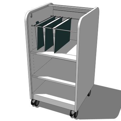 IKEA Aspvik roll-front cabinet 3D Model - FormFonts 3D Models ...
