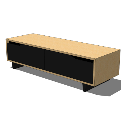 Long Low Storage Unit From Ikea Part Of The Mand