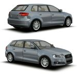 Two configurations for the Audi A3 Hatchback.