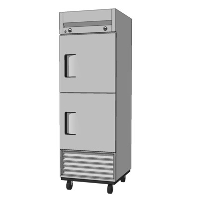 Commercial Kitchen Refrigerator And Freezer Combo.