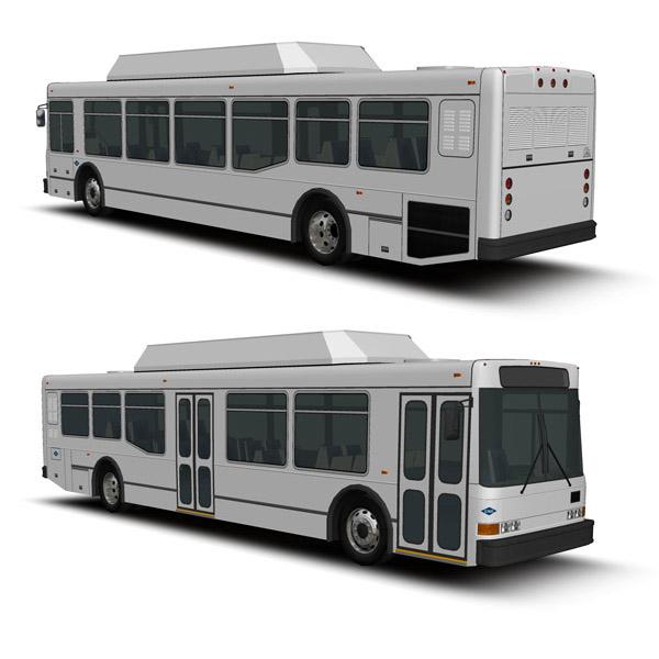 NABI 40LFW Fleet 3D Model - FormFonts 3D Models & Textures