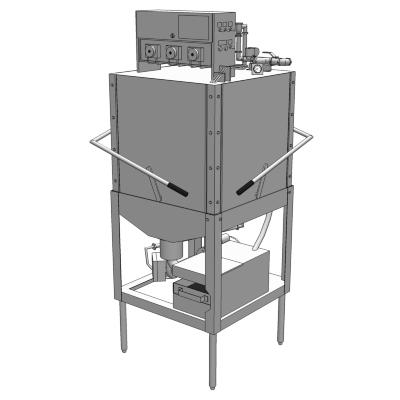 Ads L Series Commercial Dishwasher 3d Model Formfonts 3d