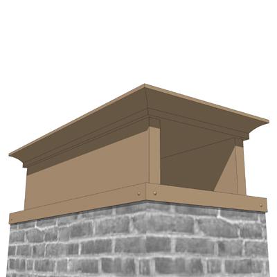Chimney Cap Set A 3d Model Formfonts 3d Models Amp Textures