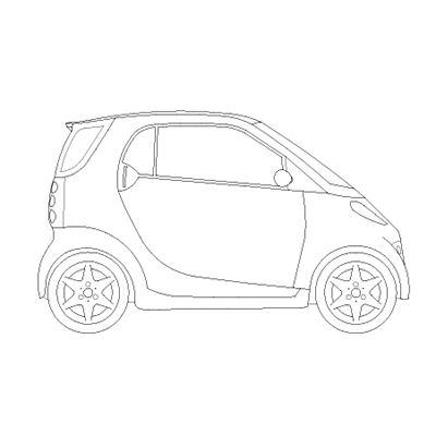 2d Car Drawings on automotive wiring design