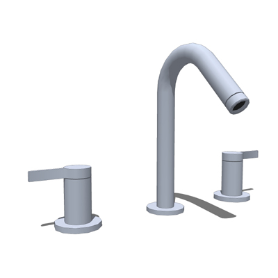 Model based on the Kohler K-942-4 Faucet..
