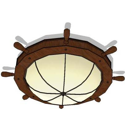 Nautical Ceiling Lights 01 Model