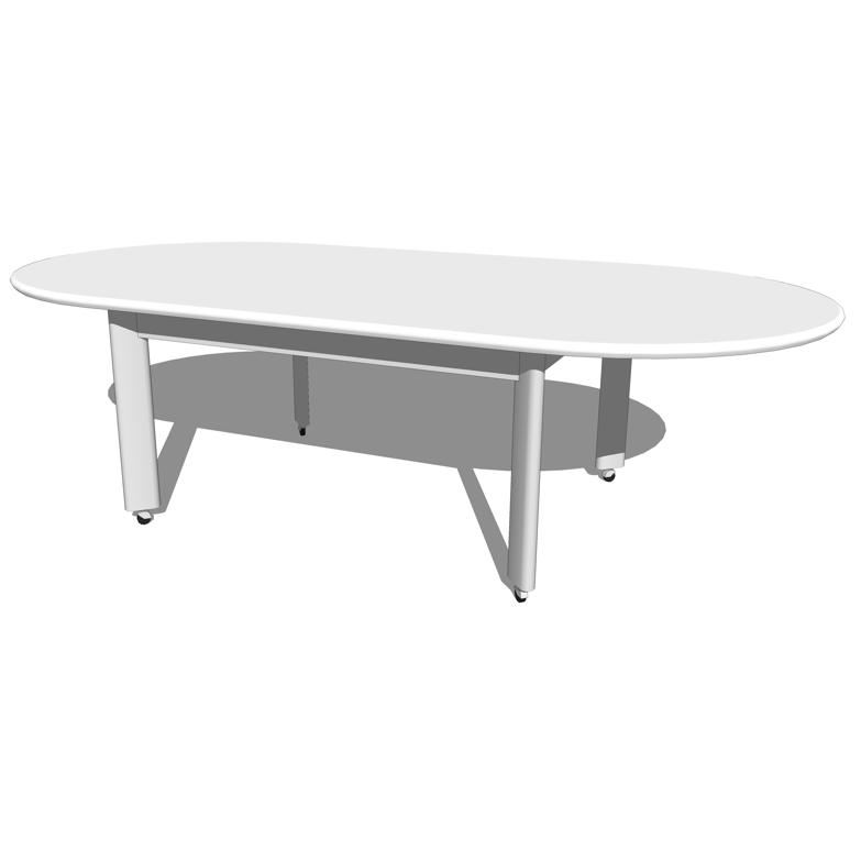 Knoll D'Urso Racetrack Tables..