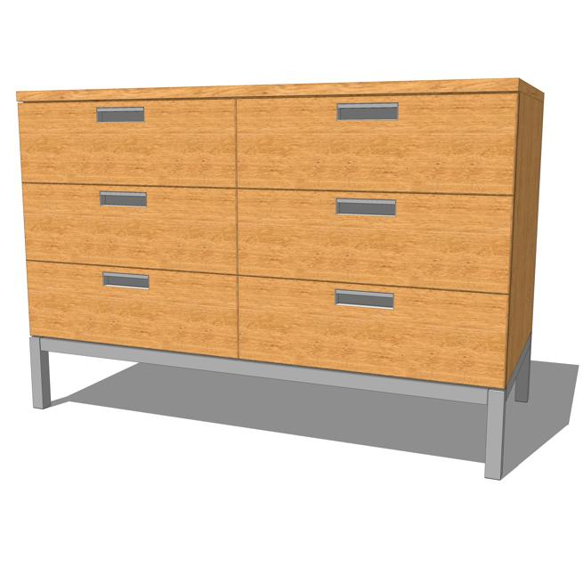 Florence Knoll Small Credenza. 4 small 