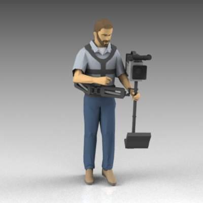 Steadicam 3D Model - FormFonts 3D Models & Textures