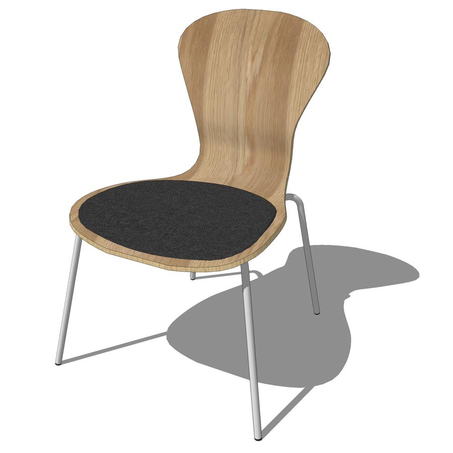 Knoll Sprite Chairs 3D Model