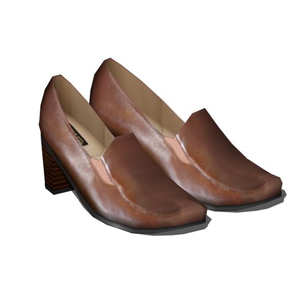 formal womens shoes 3d model formfonts 3d models textures
