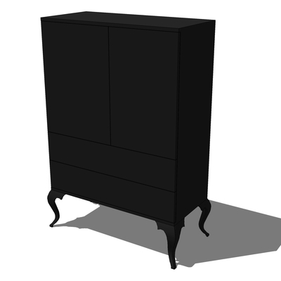 ikea trollsta cabinet 3d model formfonts 3d models