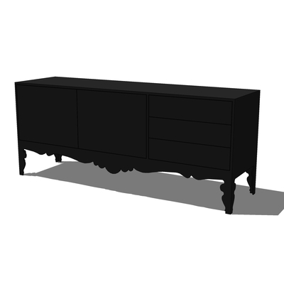 Ikea Trollsta Sideboard 3d Model Formfonts 3d Models