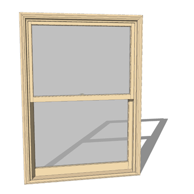 Double Hung Window Double Hung Window Mullion
