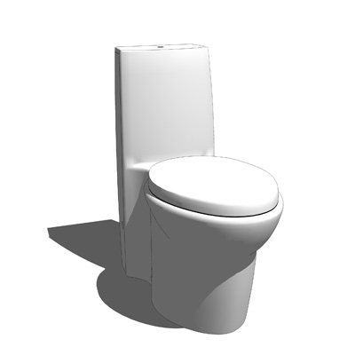 Saile Elongated One-Piece Toilet by kohler.