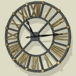 "Murray wall clock-32"" diameter(81cm)"