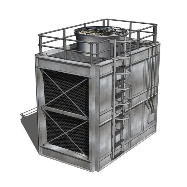 Cooling Towers 3d Model Formfonts 3d Models Amp Textures