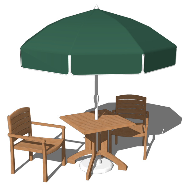 Grosfillex Outdoor Sets 3D Model FormFonts 3D Models