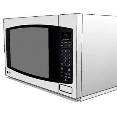assorted microwave oven 3D Model - FormFonts 3D Models