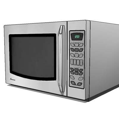 Orted Table Top Microwave Oven