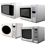 Assorted table top microwave oven