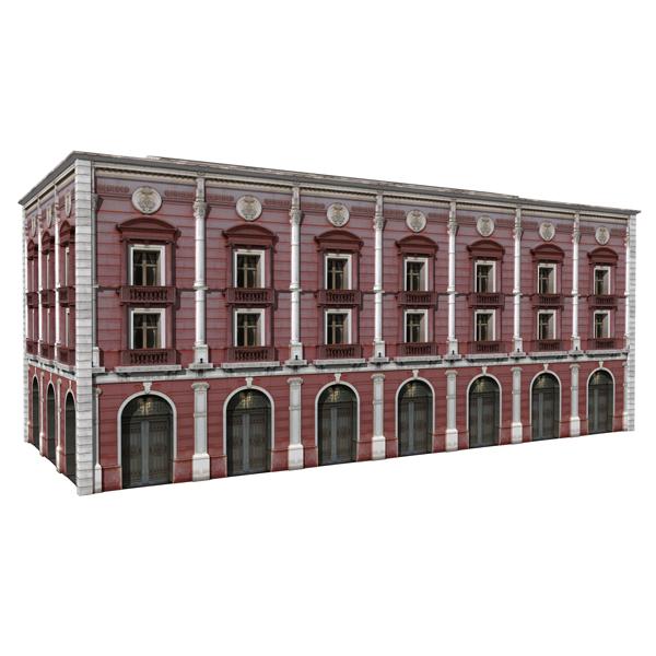Real Classic Buildings 3d Model Formfonts 3d Models