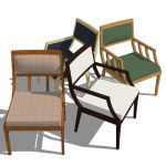 The 84000 line of chairs designed by Andrea Zinn, ...