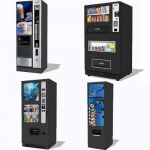 Assorted vending machines