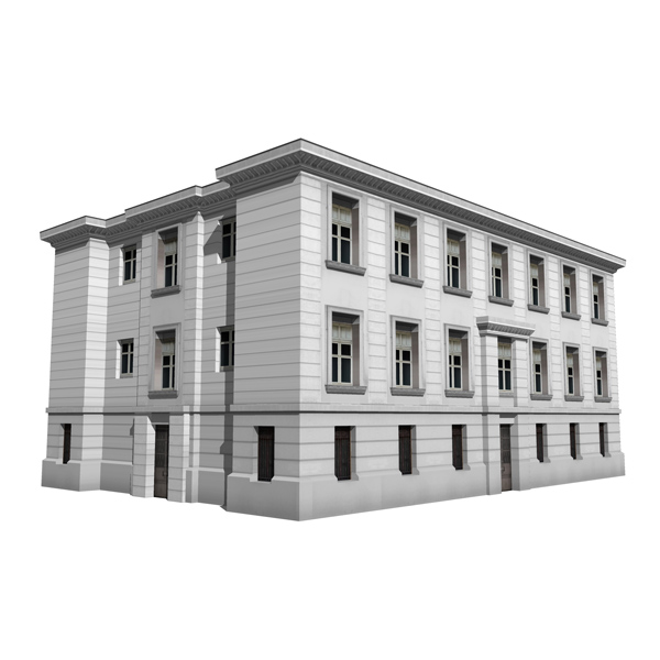 Architect 3d Garden And Exterior 20: Real Classic Buildings 2 3D Model