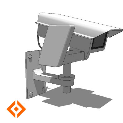 Security Camera 3d Model Formfonts 3d Models Amp Textures