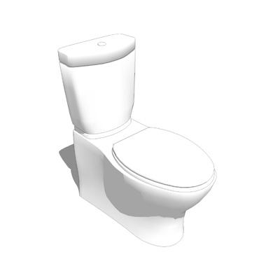 Persuade Dual Flush Toilet 3d Model Formfonts 3d Models