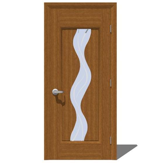 interior door texture. Milano Interior Door Set 1 3D Model Texture U
