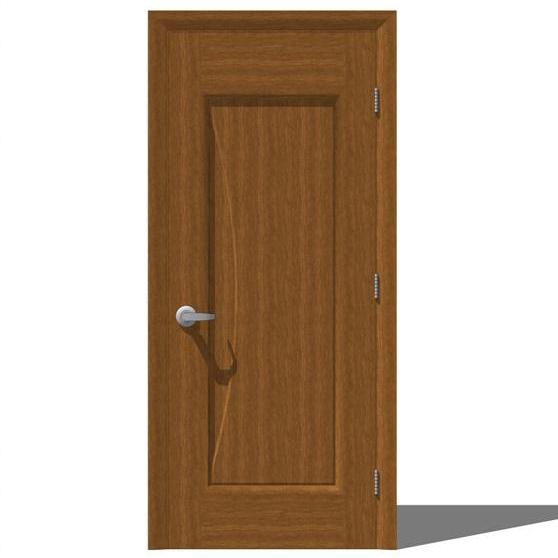 Milano Interior Door Set 1 3D Model - FormFonts 3D Models ...