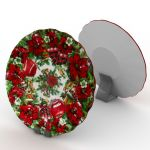 Christmas Plate (fully textured)