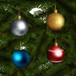 Ornamental christmas balls. To be used in the chri...