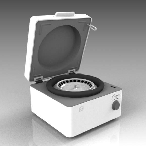 Centrifuge 3d Model Formfonts 3d Models Amp Textures