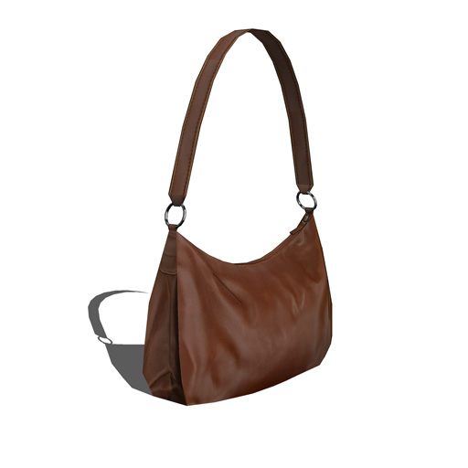 Leather handbag 3D Model