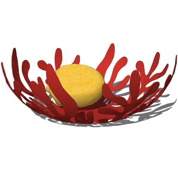 Alessi fruit bowls 3d model formfonts 3d models textures - Alessi fruit bowl ...