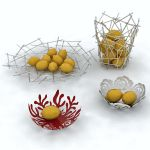 Designer fruit bowls that can be used to decorate ...