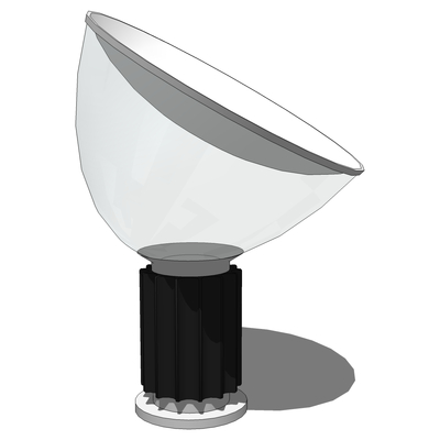 The Taccia lamp was designed for Flos by Achille a....