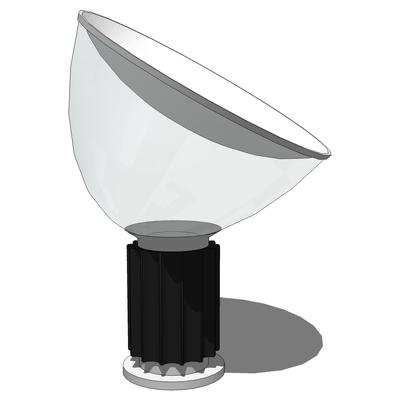 Flos taccia lamp 3d model formfonts 3d models textures for Taccia flos